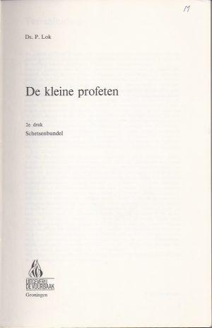 De kleine profeten, schetsenbundel-Ds. P. Lok-9060152077_P