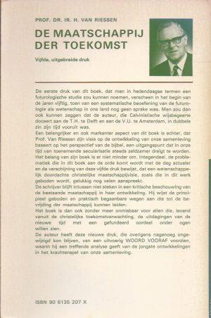 De maatschappij der toekomst-H. Van Riessen-906135207X_B