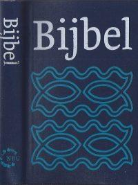 Bijbel vertaling Nederlands Bijbelgenootschap donkerblauw