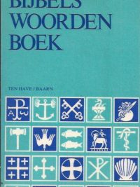 Bijbels woordenboek Frithiof Dahlby 9025941125 9789025941123 8e druk