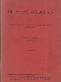 De ware belijdenis schetsen over de Nederlandse geloofsbelijdenis artikel 27 37 L Doekes