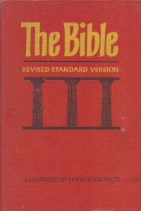 The Bible containing the Old and New Testaments RSV Horace Knowles 31 th imp 1977