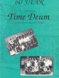 60 jaar Jeugdvereniging Time Deum van de Gereformeerde Gemeente te Kampen 1990