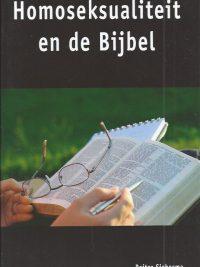 Homoseksualiteit en de Bijbel Reitze Siebesma