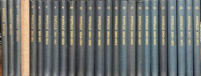 POSTILLE 1949 1974 Nummers 1 tm 25 Als 25 delige set