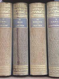 Christelijke Encyclopaedie voor het Nederlandse Volk F W Grosheide e a 1921 1931 6 delig lichtbrui in redelijke staat