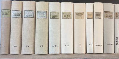 Theologisches Worterbuch zum Neuen Testament Gerhard Kittel 11 Bande