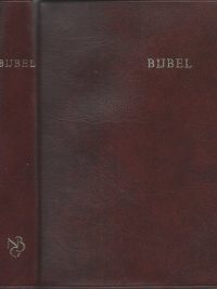 Bijbel NBG 1951 bruin skai leer 12e druk 1987 9061260345 9789061260349