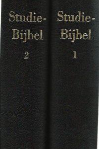 Studie Bijbel in 2 delen Bible in Dutch NBG51 9061260108 9789061260103