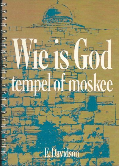 Wie is God tempel of moskee E Davidson 9080015911 ringband