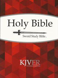 Holy bible king james version personal size sword study bible KJVER Whitaker House 9781629113906