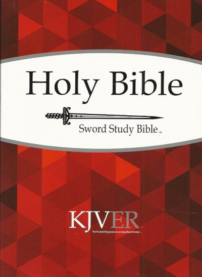 Holy bible king james version personal size sword study bible KJVER Whitaker House 9781629113906
