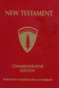 New Testament Commemorative Edition Normandy Invasion 50th Anniversary