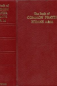The Book Of Common Prayer And Hymns A M Oxford red leather