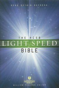 The HCSB light speed Bible William Proctor 1586400665 9781586400668