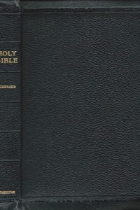 The Holy Bible Illustrated Bible Atlas Cambridge University Black Morocco Leather
