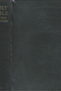 The scofield reference bible New and improved edition Oxford University Press 1945