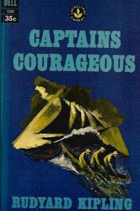 Captains Courageous Rudyard Kipling John K Hutchens Dell Pub Co 1963 Laurel leaf library Dell 1050