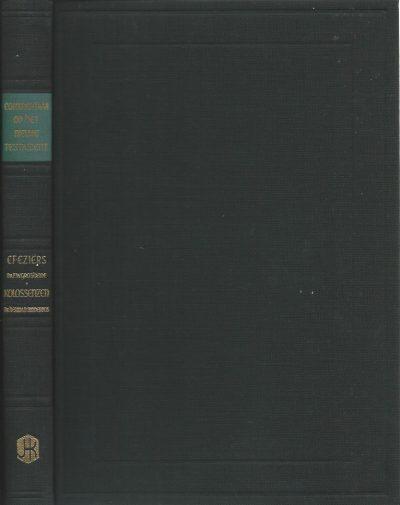 Commentaar op het Nieuwe Testament De Brief van Paulus aan de Efeziers Dr F W Grosheide