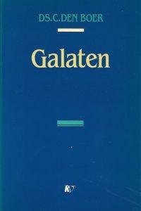 De brief van Paulus aan de Galaten Ds C den Boer 9029709561 9789029709569