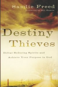 Destiny thieves defeat seducing spirits and achieve your purpose in God Sandie Freed 0800794206 9780800794200