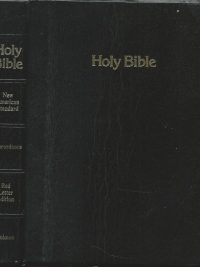 Holy Bible New American Standard Concordance Red Letter Edition Paragraphed Holman 0879816635 9780879816636