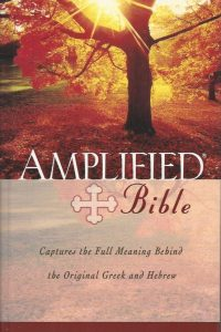 The Amplified Bible containing the Amplified Old Testament and the Amplified New Testament Zondervan 0310951682 9780310951681
