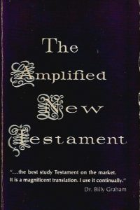 The Amplified New Testament Marshall Morgan and Scott 1968 0551051922 9780551051928