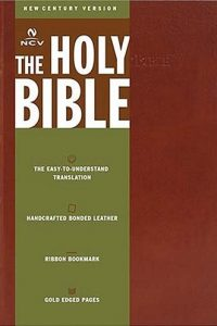 The Holy Bible New Century Version Tan Bonded Leather Thomas Nelson Bibles 0718003667 9780718003661
