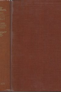 The Holy Bible Revised standard version containing the Old and New Testaments Thomas Nelson Sons reprinted 1952 1953