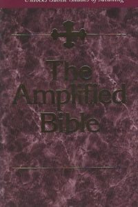 The Holy Bible amplified version The Amplified Bible Zondervan 0310951852 9780310951858