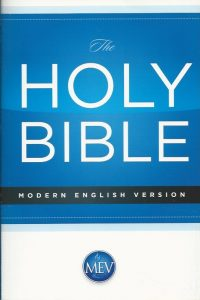 The Holy Bible modern English version MEV economy Bible Passio 2015 1629986429 9781629986425