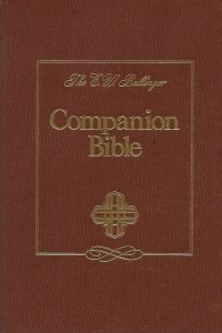 The companion Bible being the Authorized version of 1611 with structures and critical and explanatory notes with 198 appendixes Zondervan 5th print