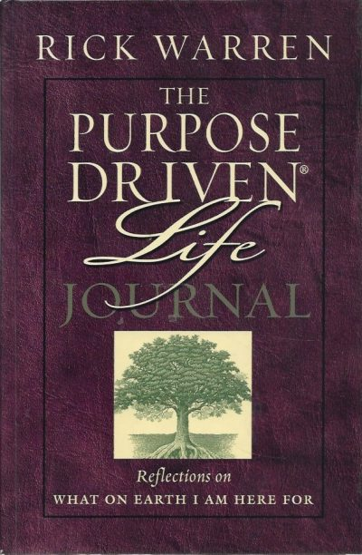 The purpose driven life prayer journal Rick Warren 0310807182 9780310807186