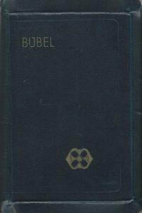 Bijbel 1953 zakbijbel donkerblauw oversized leer A. Jongbloed 160 105 30