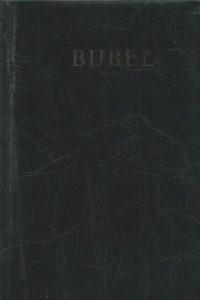 Bijbel 1988 Statenvertaling 10e druk editie 1977 9061260086 9789061260080 zwart skai