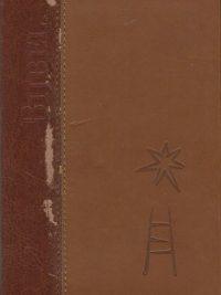 Bijbel 2 kleuren leer klein formaat 10 bij 15.5 en 25 cm in foedraal Jongbloed 2005 9065392599 9789065392596