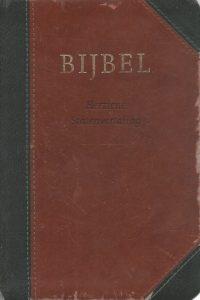 Bijbel Herziene Statenvertaling 12x18 vivella Stichting HSV 9789065393494