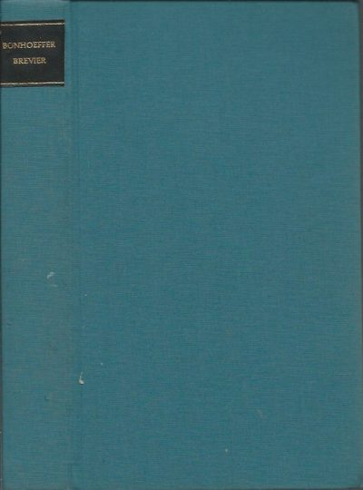 Bonhoeffer Brevier samengesteld door Otto Dudzus Hardcover boek