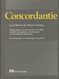 Concordantie op de Bijbel in de Nieuwe Vertaling van het Nederlands Bijbelgenootschap 9024229006 9789024229000 4e druk 1996