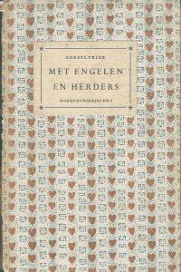 Met engelen en herders kerstlyriek samengesteld door Chr. Leeflang Robijnenboekjes 7