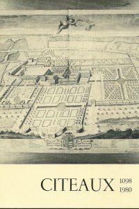 Abrege chronologique de lhistoire de Cîteaux de saint Robert 1098 a dom Loys Samson 1980 Frere Marcel Lebeau