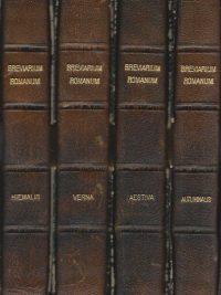 Breviarium Romanum Hiemalis Verna Aestiva Autumnalis Editio XVII Juxta Typicam Amplificata XV