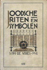 Joodsche riten en symbolen 1 S. Ph. de Vries Zutphen Thieme 1928
