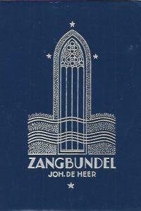 Zangbundel Joh. De Heer No. 2 869 liederen en koren 1.000.000 1.025.000