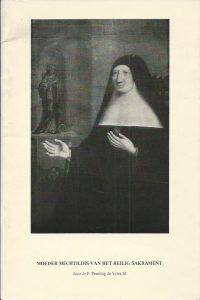 Moeder Mechtildis van het Heilig Sakrament P. Penning de Vries