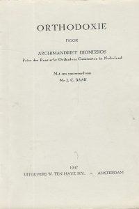 Russische orthodoxie door Archimandriet Dionissios J.C. Baak