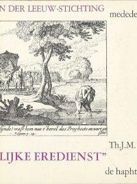 Uw redelijke eredienst De haphtaroth bij Leviticus Th.J.M. Naastepad