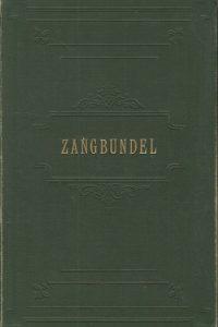 Zangbundel ten dienste van huisgezin en samenkomsten 735 liederen en koren geschikt voor orgel piano of gemengd koor Joh de Heer 4e uitgave 1909