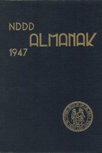 Almanak van het Studentencorps aan de Vrije Universiteit 1947 NDDD